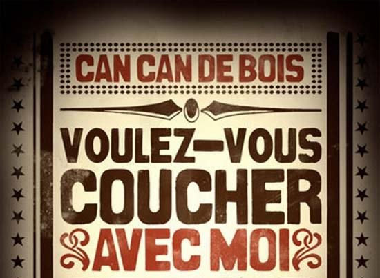 Can-Can de Bois