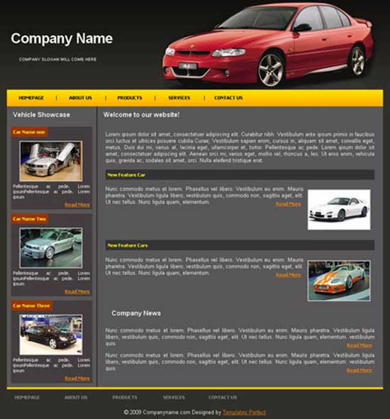 Cars-Showroom-templates