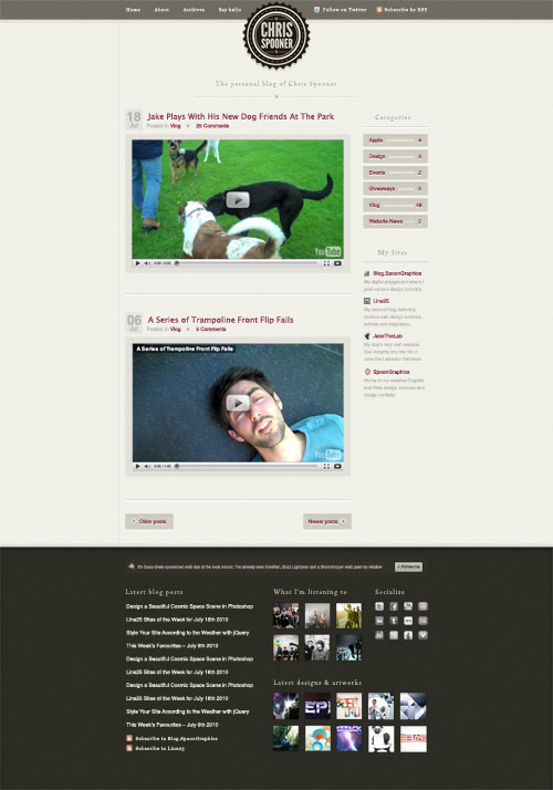 Coding a Stylish Blog Design Layout in HTML & CSS