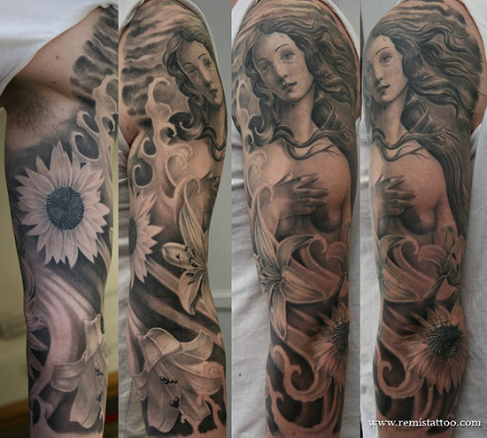 FULL SLEEVE TATTOO 12