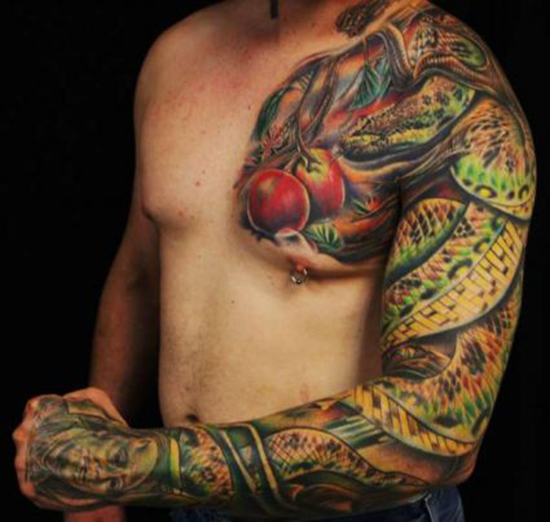35 Amazing Full-sleeve Tattoo Designs