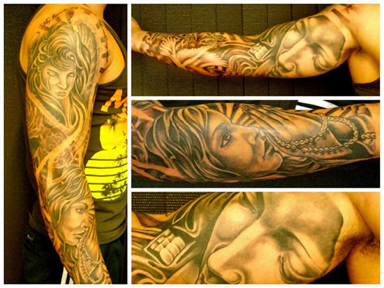 FULL SLEEVE TATTOO 19