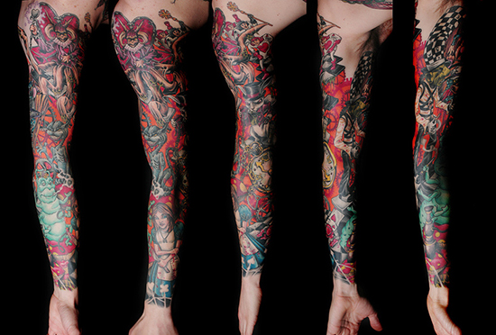 FULL SLEEVE TATTOO 3