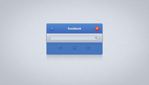 Facebook UI