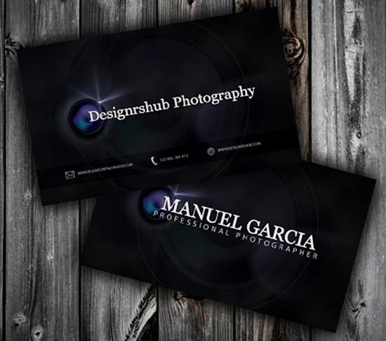Free PSD Business Card Templates - Photoshop business card template
