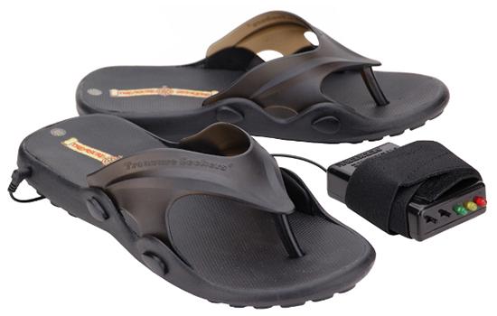Metal-Detecting Sandals
