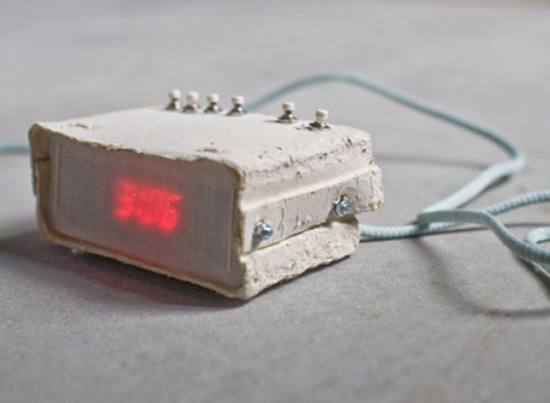 Paper Alarm Clock