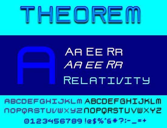 TheoremNBPfont