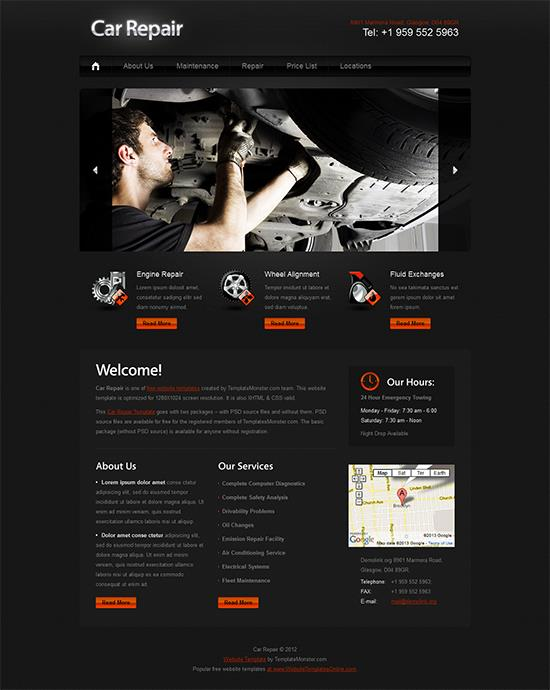 car-repair-template