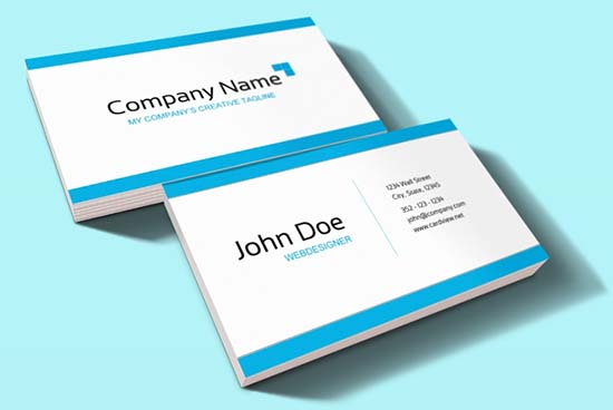 30 free psd business card templates free business card psd template flashek Gallery