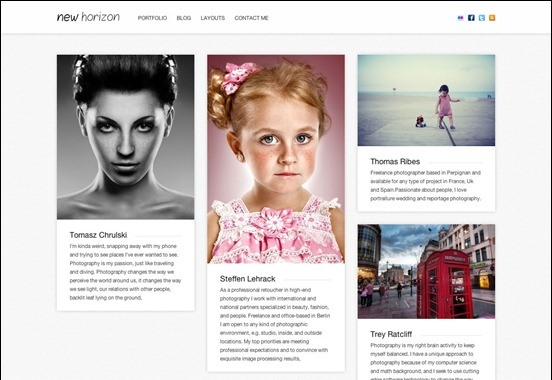 new-horizon-pinterest-theme
