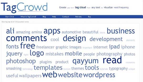 9 best free online word cloud generators, Powerpoint templates