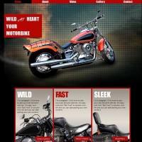 wild-moterbike-template