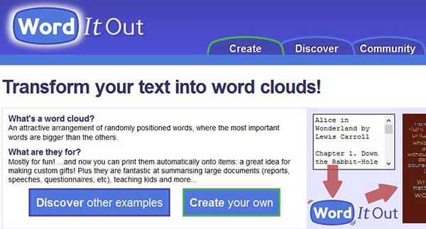 9 Best Free Online Word Cloud Generators