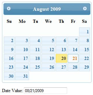 15. Date Picker