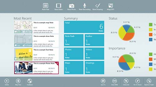 2. Work Notes Pro
