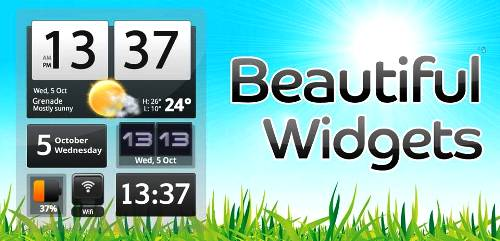 7. Beautiful Widgets