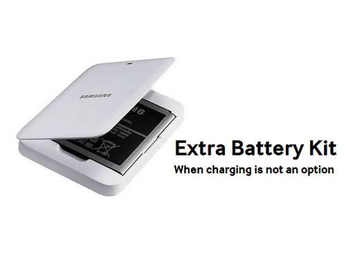 8. Extra Battery Kit