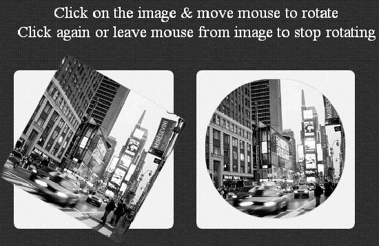 JQuery Plugin For Rotating Image