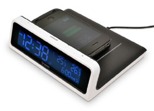 Oregon Scientific Time & Wireless Charging Station