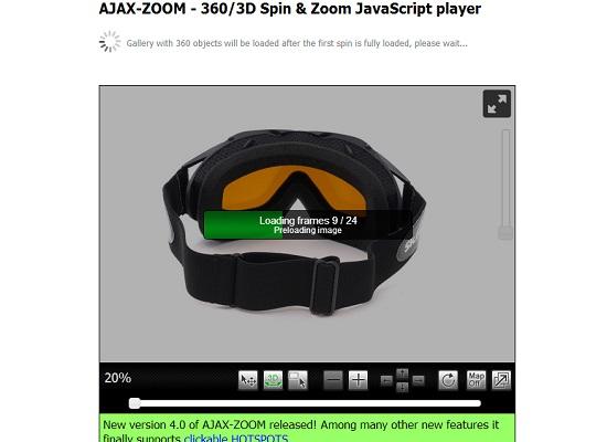 Ajax Zoom