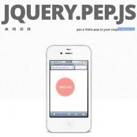 jquery-pep-js