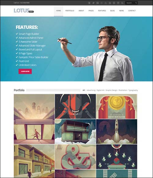lotus-flexible-multipurpose-responsive-wp-theme