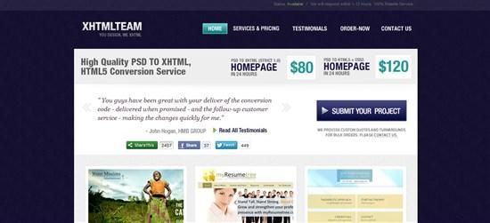 XHTML Team