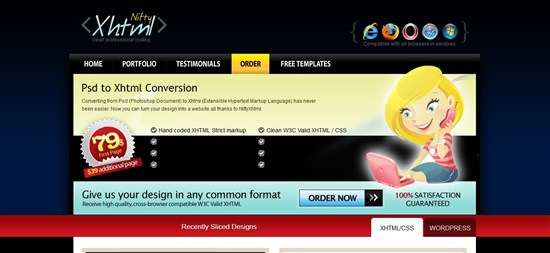 Nifty XHTML