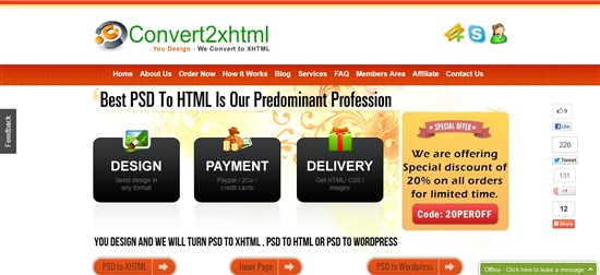 Convert2xhtml