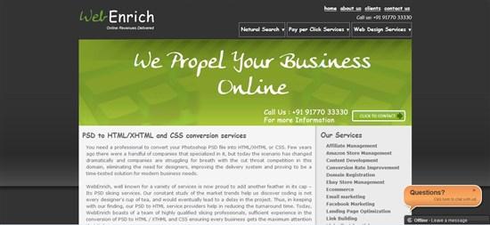 web enrich