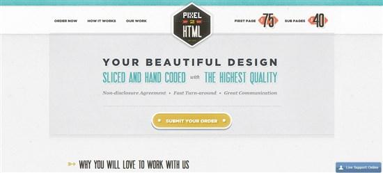 Pixel2HTML