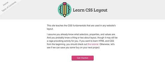 Learn CSS Layou