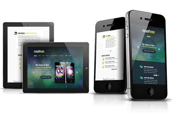 5. Fusion of Mobile and Desktop designs