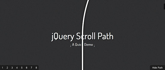 5. jQuery Scroll Part