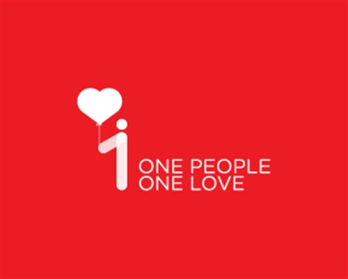 7.one people one love-design-logo