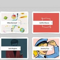 8. Adaptive Thumbnail Pile Effect with Automatic Grouping