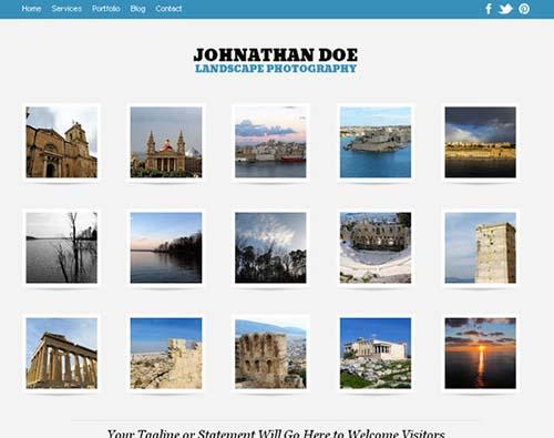Auto Focus Responsive WordPress Photography Theme