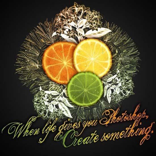 Citrus Fruit Design