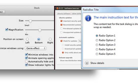 Custom Checkboxes and Radio Buttons