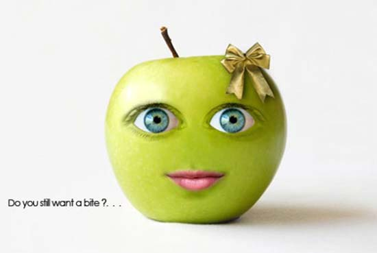 Cute-Green-Apple