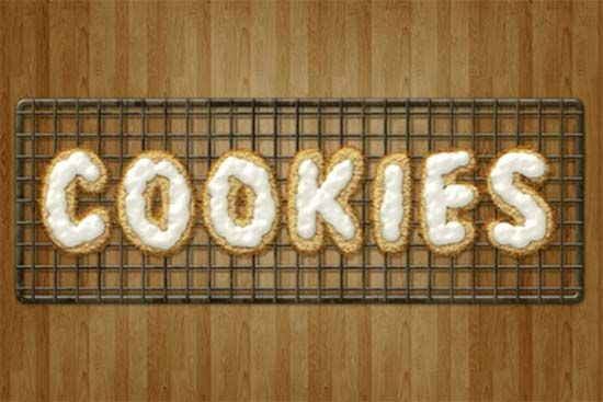 Delicious-Cookie-Text