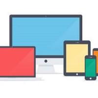 Flat Apple Family Templates (PSD) by NumarisLP
