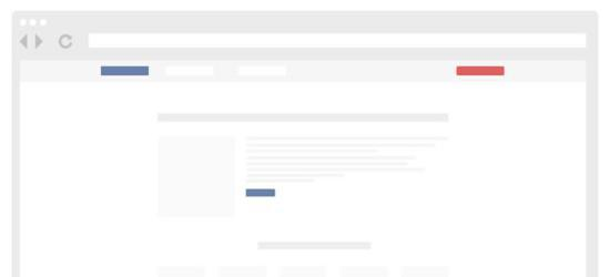 Flat Browser Freebie (PSD) by Keyners