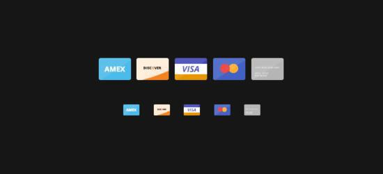 Flat Credit Cards (PSD) by Ian Silber