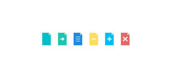 Flat Icons (PSD) by Vladimir Carrer