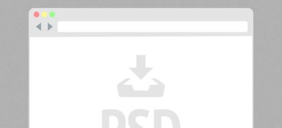 Flat Mini Browser (PSD) by Joe Barber