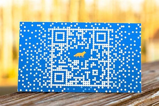 Foxtrot-QR-Code