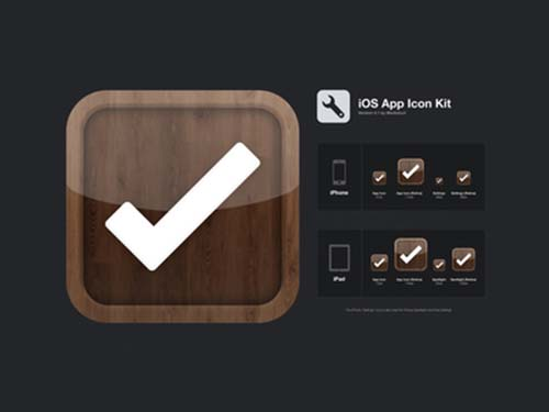 Free iOS App Icon Kit