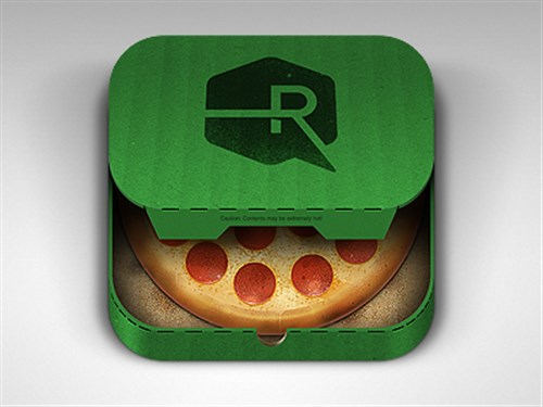 Pizza App iOS Icon